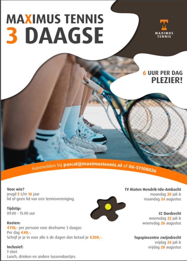 Maximus Tennis Driedaagse
