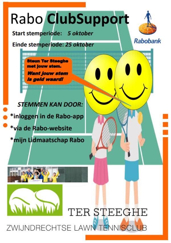 Flyer Rabo Clubsupport