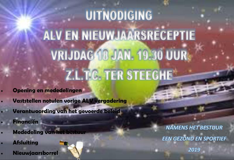 Uitnodiging ALV 2019